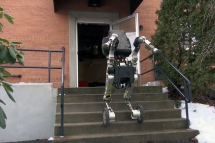 Необычный робот от Boston Dynamics передвигается как атлет мирового класса