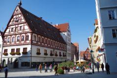 Нёрдлинген – немецкий город, покрытый алмазами
