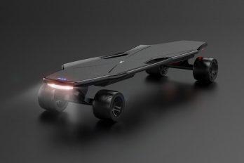StarkBoard: умный электрический скейтборд, который управляется интуитивно