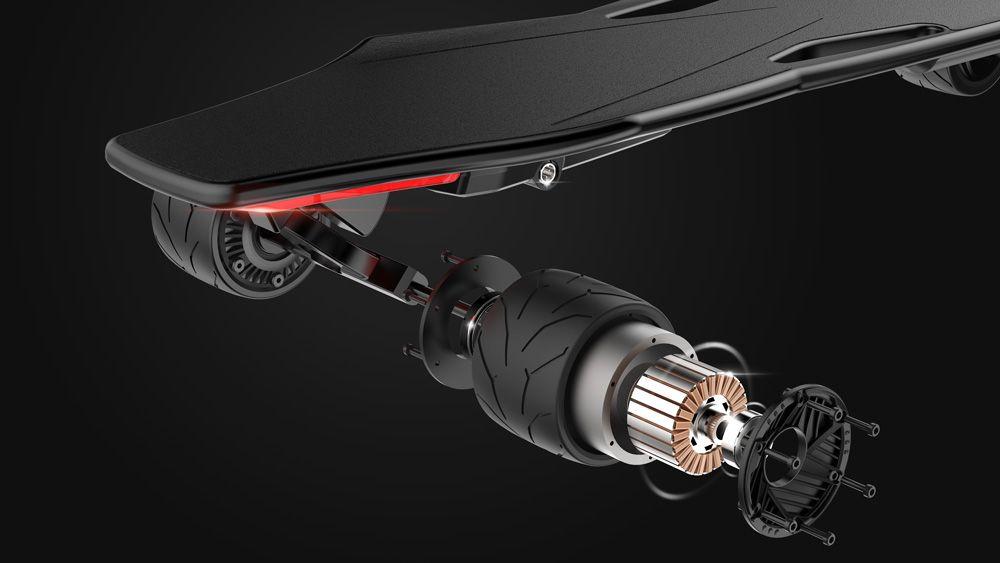 электрический скейтборд StarkBoard