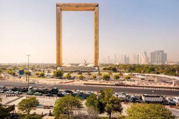 В Дубае представили грандиозную рамку, которая станет новой достопримечательностью города