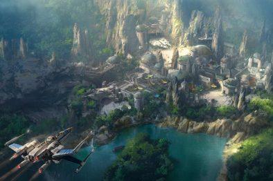 Disney показала видео со стройки парка по мотивам Star Wars