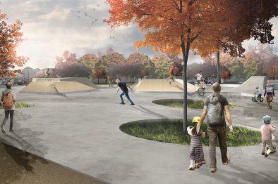 В Грозном откроют парк по проекту норвежских архитекторов из Snøhetta