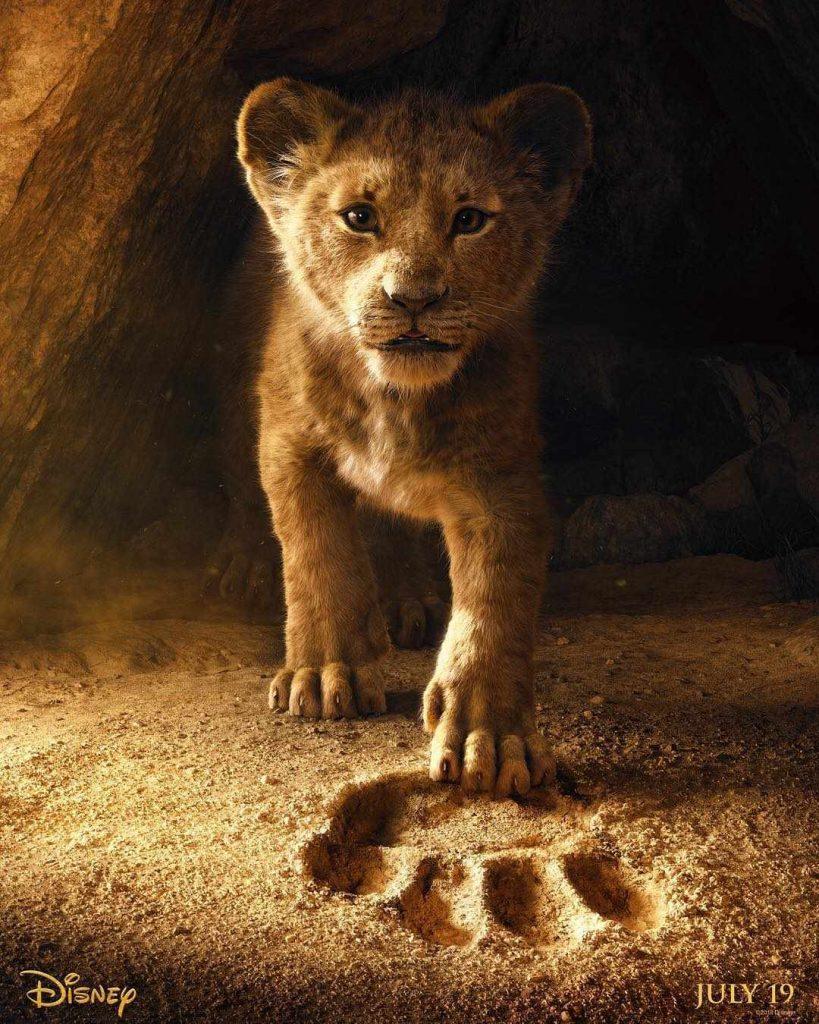 трейлер король лев 2019