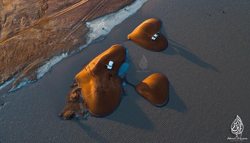 пустыня аравии в виде сердца