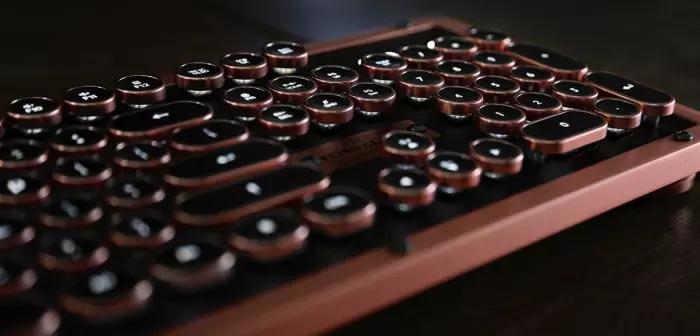 ретро клавиатура azio